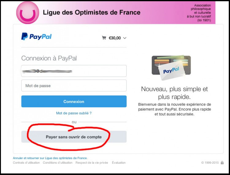 Carte But Mon Compte.Aide Paypal Carte Bancaire Ligue Des Optimistes De France