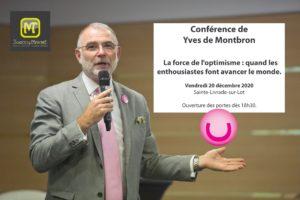 Yves de Montbron conférencier positif