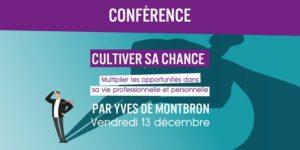 Conférence chance par Yves de Montbron